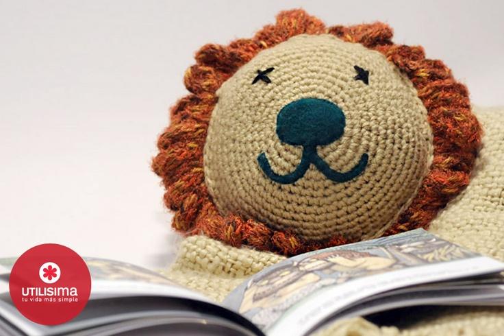 Almohadón tejido, por Camila Aparicio. http://www.utilisima.com/manualidades/9415-almohadon-tejido.html: Niño