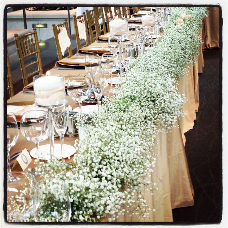 Top 25 Best Wedding Head Tables Ideas On Pinterest: Indianapolis Museum Of Art Head Table, Floating Candles