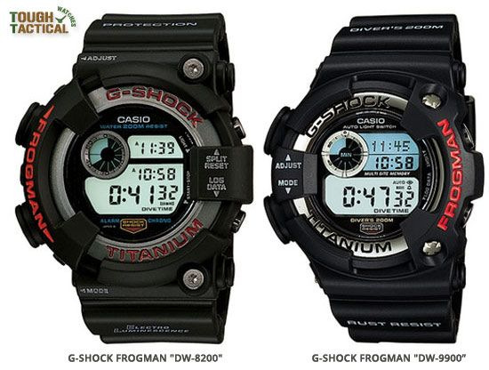 G-Shock Frogman DW-8200 the second generation In June 1995 and one of most popular G-Shock series in the 90's.