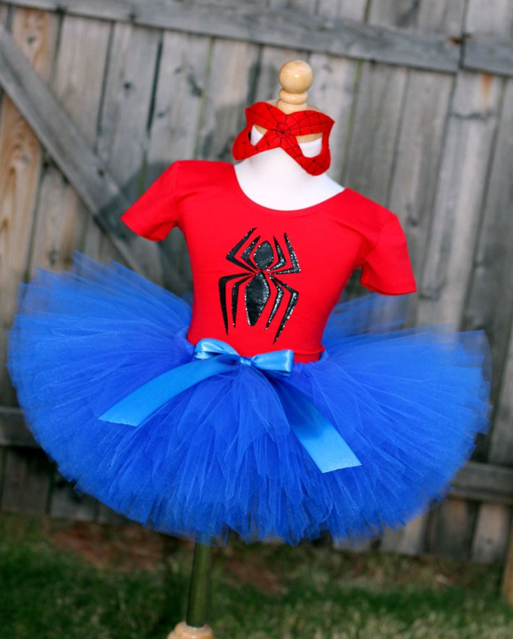 Size 12-18 months Spider Girl Tutu Costume by SocktopusCreations