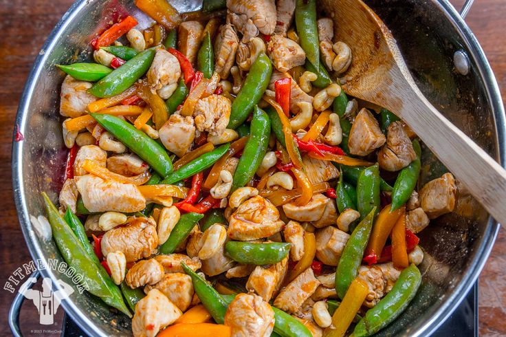 Spicy & Light Kung Pao Chicken | Fit Men Cook