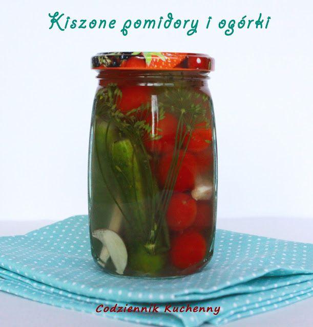 Kiszone pomidory i ogórki