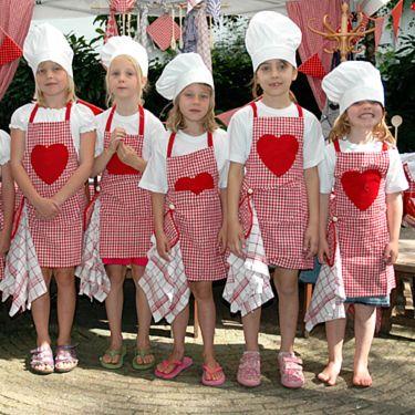 Abracadabra kinderfeestjes met een thema - bakkersfeest