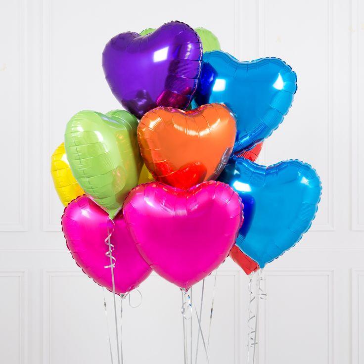 фото воздушных шариков сердец нашей