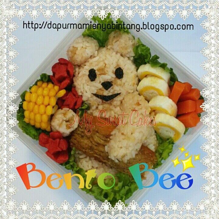 Cute Teddy Bento