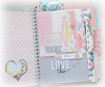 memory file album ~ pop off the page2 by jgirl at Studio Calico