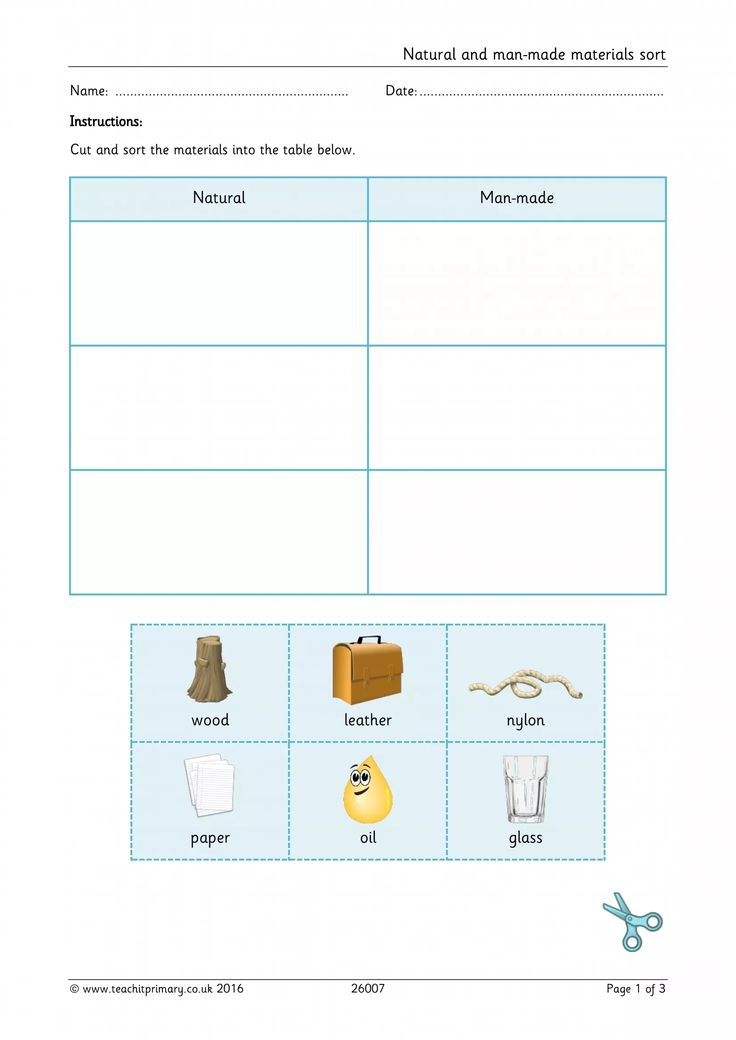 Teachit Primary - Primary teaching resources for Science: Materials