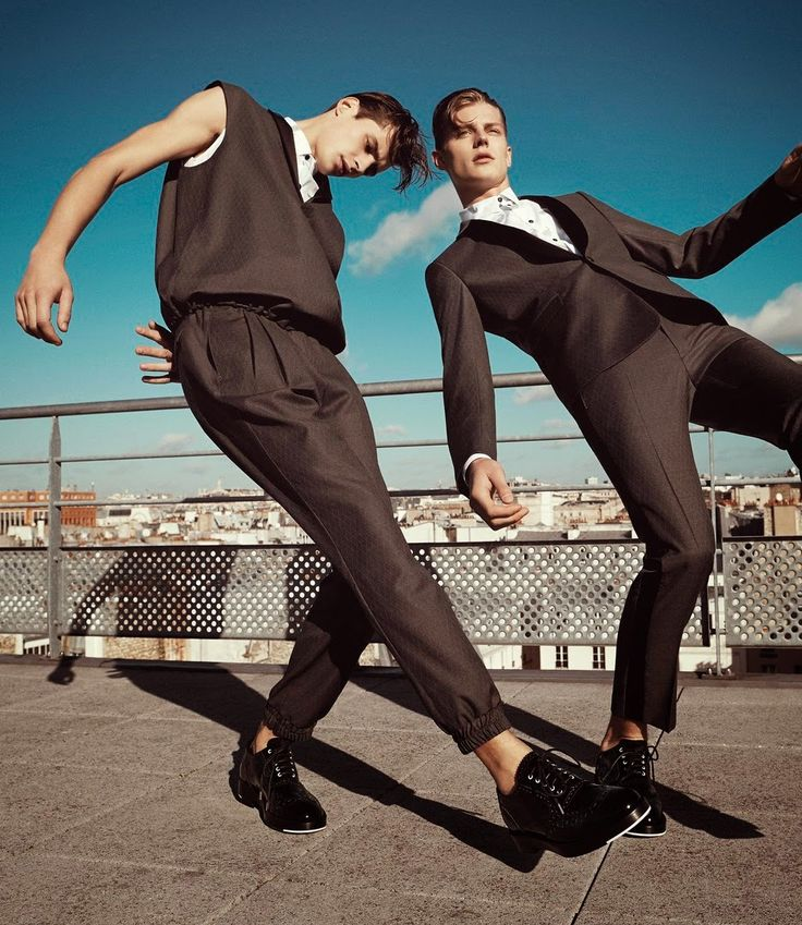 baehaus: Adrien Sahores & Janis Ancens | Kris Van Assche SS14 | Ph: Alessio Bolzoni