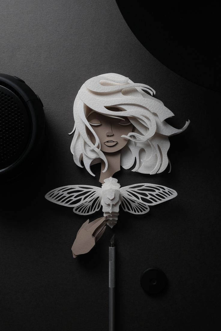 "Check out this @Behance project: ""Papercut Nymphs"" https://www.behance.net/gallery/46894667/Papercut-Nymphs"