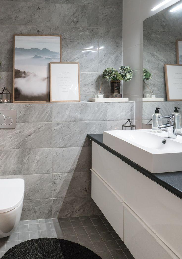 Interior by Jutta K.N: Suunnittelukohde - viimeistelty wc