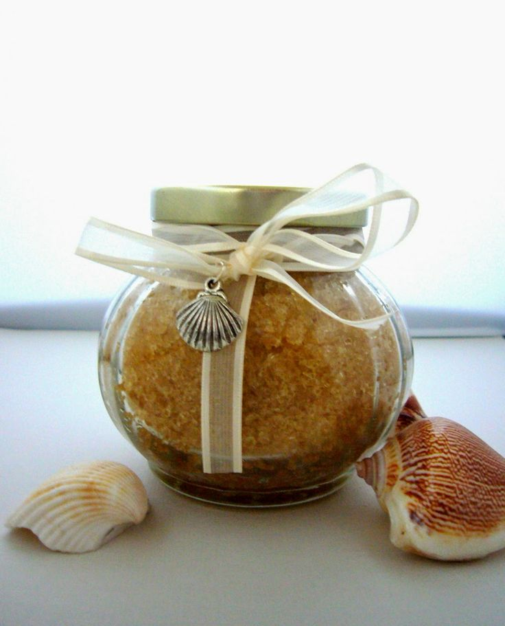 DIY sugar scrub for favors gifts