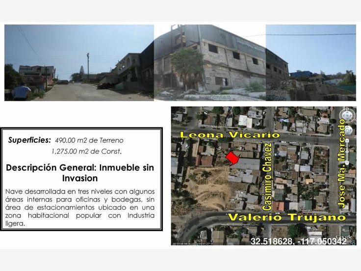 Nave en venta Col. Guerrero, Zona Centro, Independencia, Tijuana, Baja California, México $1,800,000 MXN   MX17-CQ4153