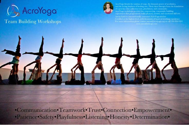 Acro Yoga   Aerial and Partner Yoga - Yoga 4 Love