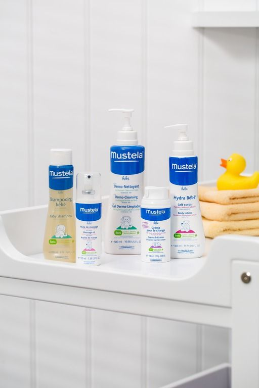 Bubble bath, facial cream, soap and more. Take care of your baby's sensitive skin with this great range of baby skincare products.