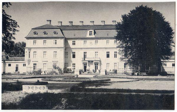 Schloss Schlobitten in Ostpreußen, 1945 zerstört (Fürsten zu Dohna-Schlobitten)