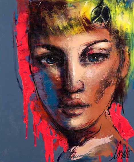 CORNO New York-based urban expressionist Corno is the master of emotion.