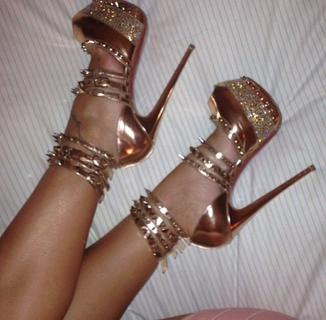 Like these stripper heels lol