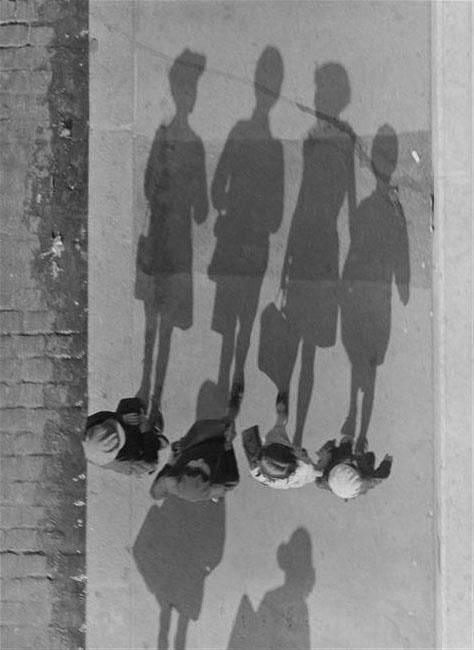 by Andre Kertesz - Good for viewpoint, lots of overhead work as well as shadows and dramatic angles