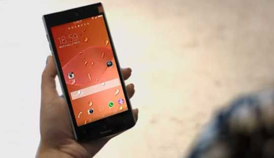 ViewSonic V55 Smartphone with Retina Scanner Launched at CES 2015