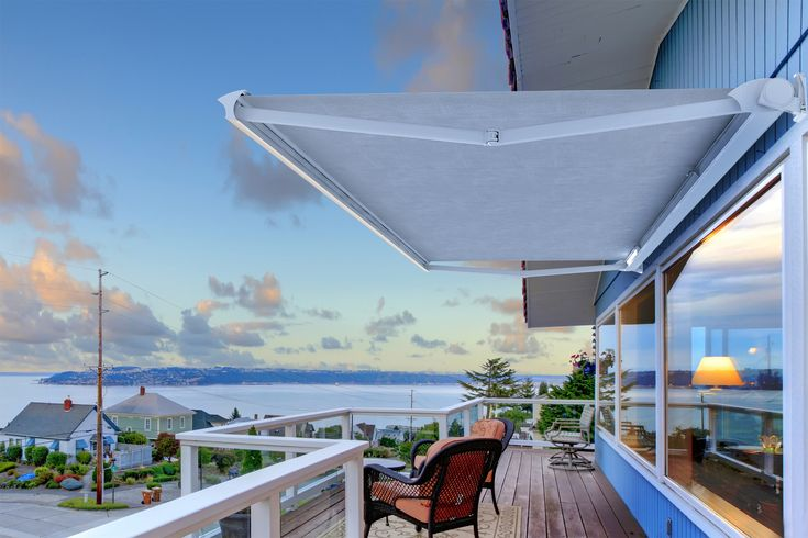 Improve and secure your outside #living area with our comprehensive range of #FoldingArm #Awnings this Easter.