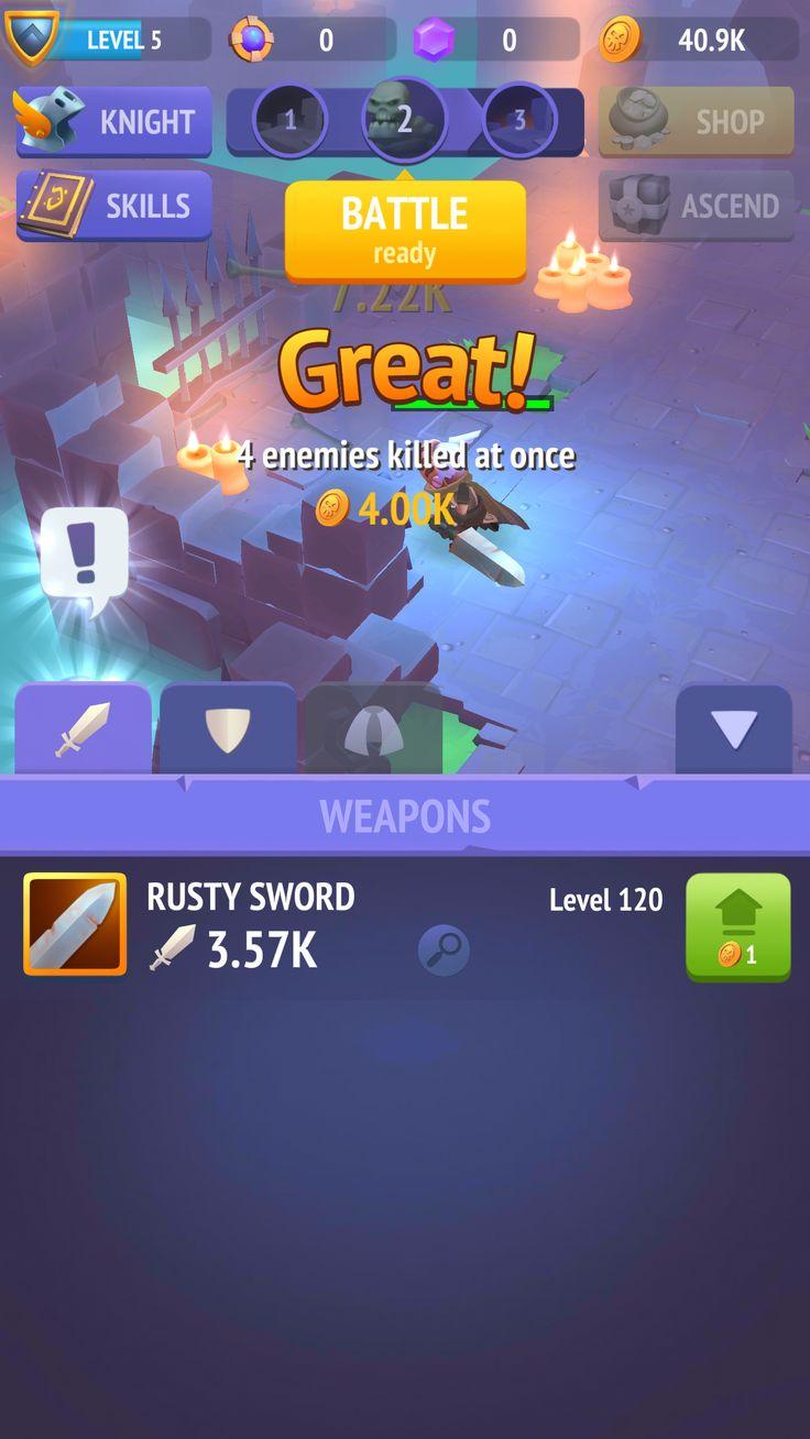 Non-stop Knight UI