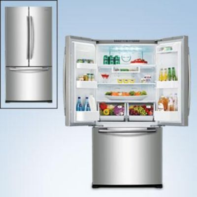 Samsung® 18 cu. Ft. French Door Bottom Freezer Refrigerator - Stainless Steel - Sears | Sears Canada