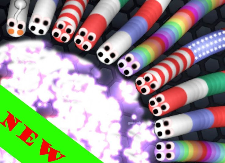 Slither.io - NEW SLITHER.IO GAMEMODES - Gameplay
