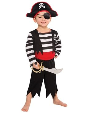 Deckhand Pirate Childrens Costume by Fancy Dress Ball