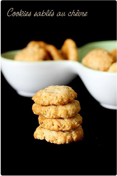 Cookies sablés au chèvre