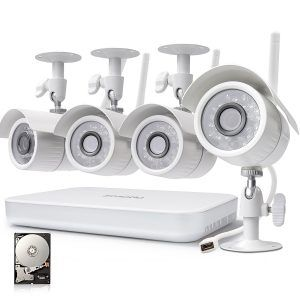 6. Zmodo 720p HD High Definition Wireless Security Camera System