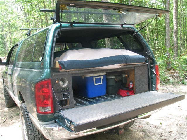 cool truck bed ideas cast and blast montana tacoma truck camping pinterest storage ideas. Black Bedroom Furniture Sets. Home Design Ideas