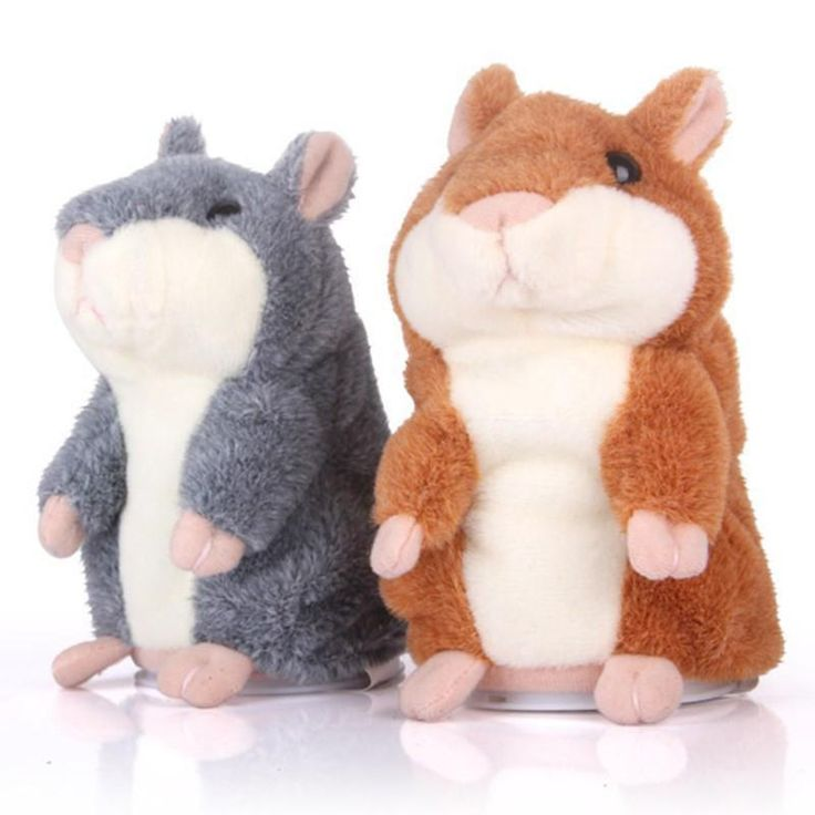 2017 Talking Hamster Plush Toy $23.18 CAD