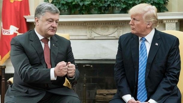 The expert has explained why Trump meets Poroshenko more often than with Putin