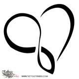 Image detail for -Infinity Heart Tattoojpg