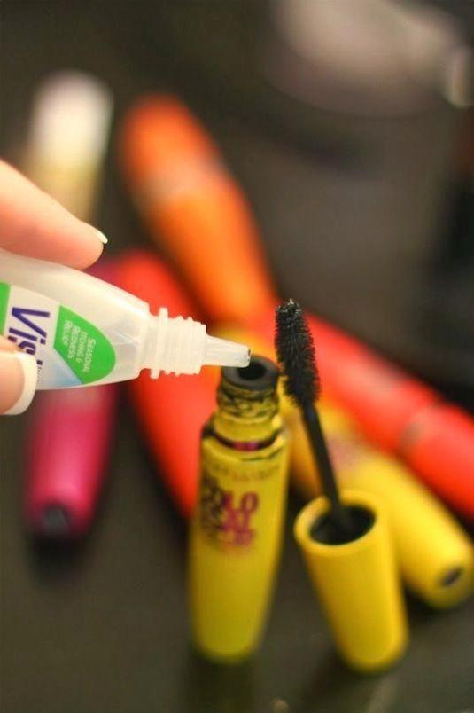 Enfin, des trucs de maquillage : pour se maquiller...