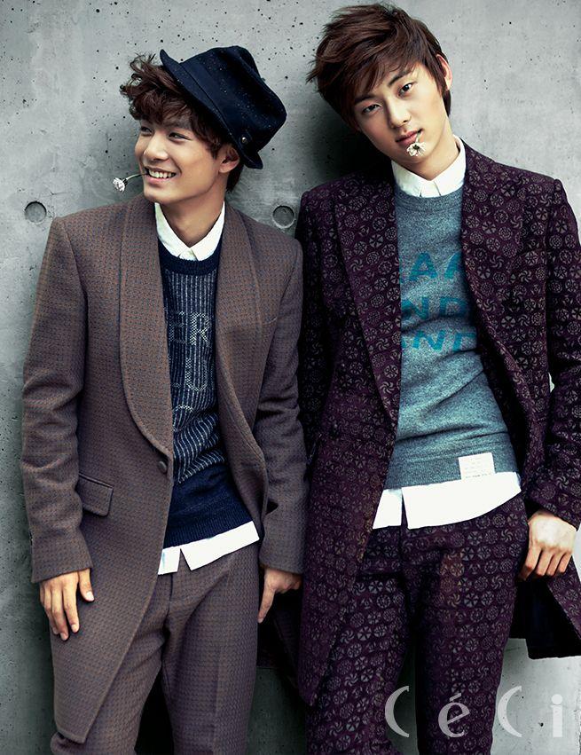 NU'EST - Jr & Min Hyun - Ceci Magazine October Issue '13