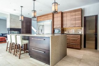 Jean St - contemporary - kitchen - toronto - by Bailey Designs