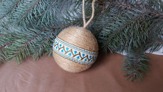 Christmas ball Christmas decor Rustic decor от RusticShopUkraine