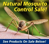Save on Natural and biological mosquito control products