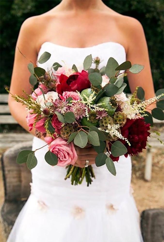 30 Unique Silk Wedding Bouquets Wedding Forward