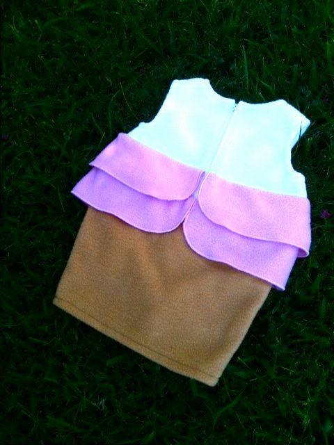 Cupcake di bambino con il costume di Sprinkles di EZorangeDesign