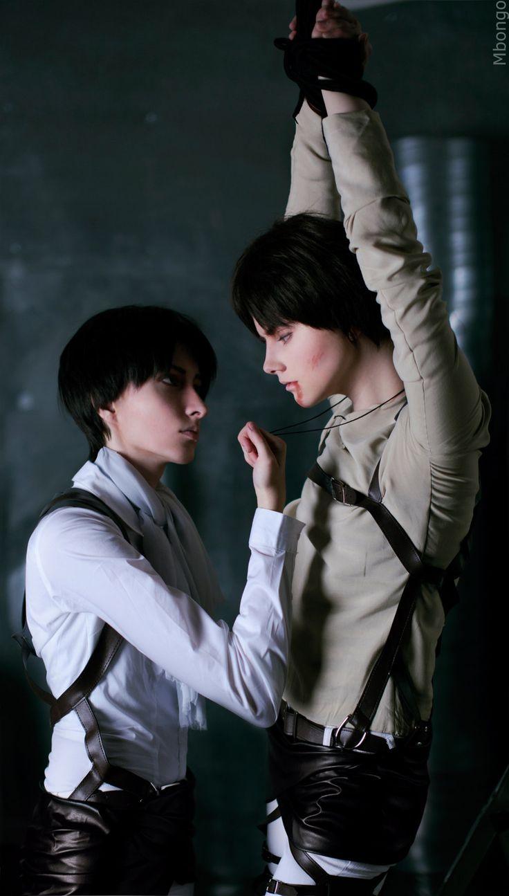 Levi, Eren by ~Tovarish-N   Shingeki no kyojin Things I ...
