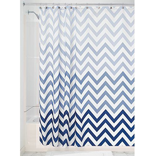 InterDesign Ombre Chevron Fabric Shower Curtain, 180 x 180 cm - Blue Multi Jetzt bestellen unter: http://www.woonio.de/p/interdesign-52020eu-ombre-chevron-duschvorhang-mehrfarbig-blau/