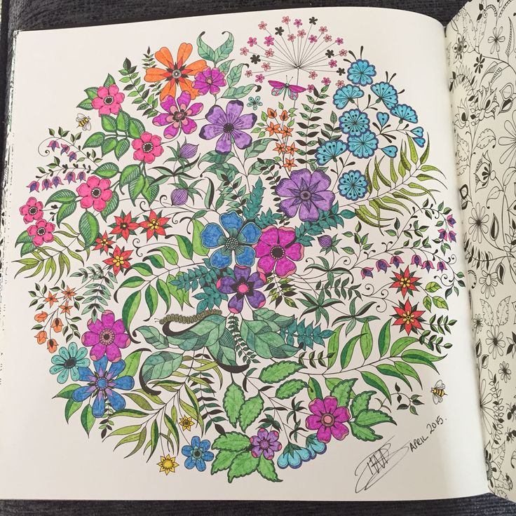 secret garden colouring ideas images best images about colouring therapy my gallery on - My Secret Garden Coloring Book