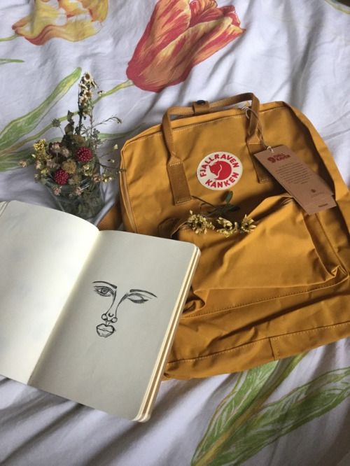 Image result for kanken backpack warm yellow vs ochre  vibes in 2019  Art hoe aesthetic