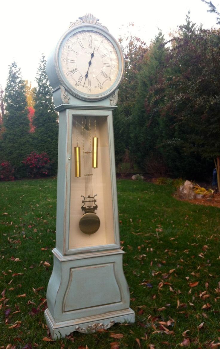 Grandfather Clock by Bellablakely Uptown Vintage Furniture