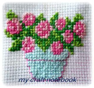 my craft notebook : cross stitch