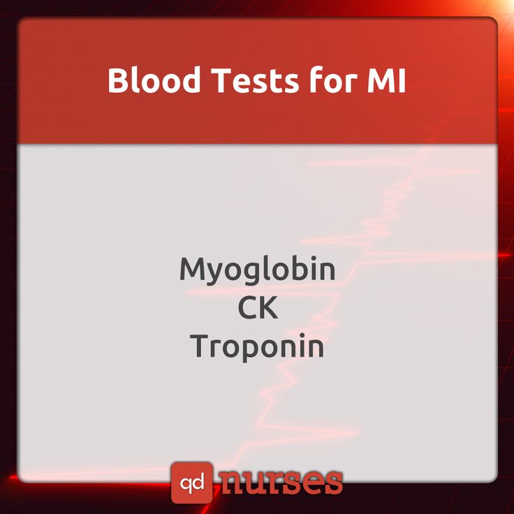 Know the important blood tests for myocardial infarction! It determines the difference between MI and angina!