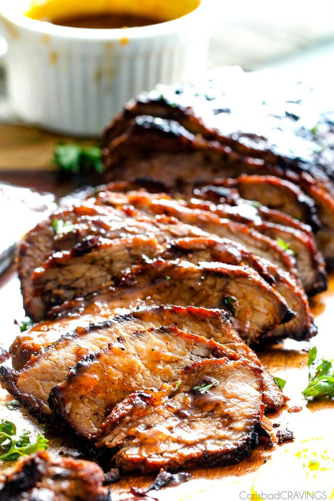 Grilled Cajun Steak with Sweet Orange Apricot Glaze – this Cajun marinade and rub is SO crazy flavorful. The steak turned out SO juicy and tender and was gone in a flash. And don't skip the Sweet Orange Apricot Glaze – it compliments the heat perfectly.