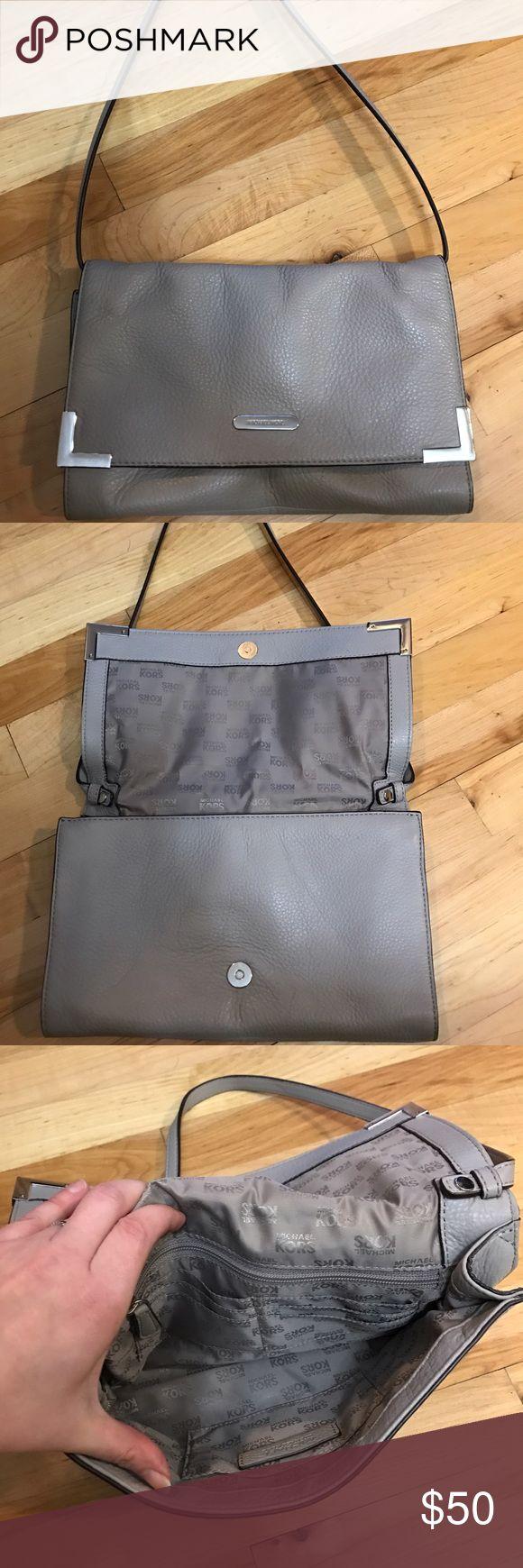 Michael Kors Small bag Small light grey shoulder bag. Great condition Michael Kors Bags Shoulder Bags